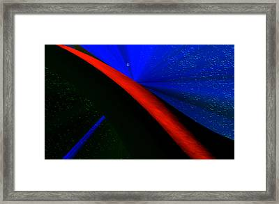 Path Through The Imagination Framed Print by Kellice Swaggerty