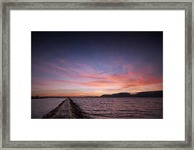 Path To Bliss Framed Print