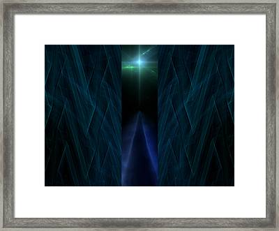 Path To Eternity Framed Print