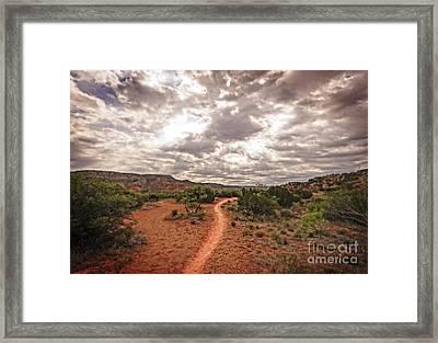 Path To Glory Framed Print by Charles Dobbs