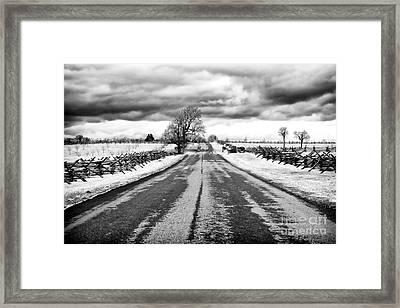 Path To Glory Framed Print by John Rizzuto
