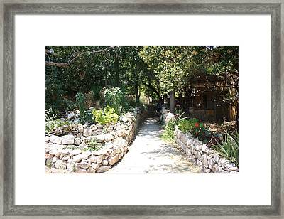 Framed Print featuring the photograph Path To Happiness by Julie Alison