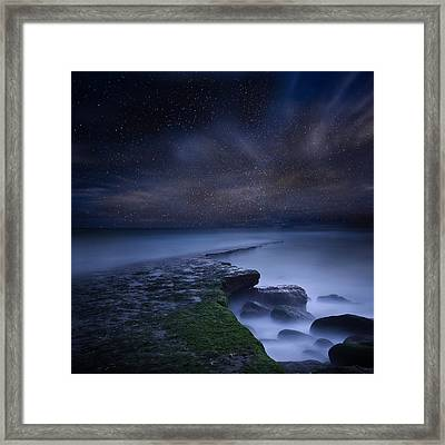 Path To Infinity Framed Print