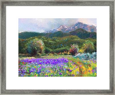 Path To Nowhere Framed Print by Talya Johnson