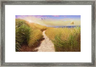 Path To Oneness Framed Print