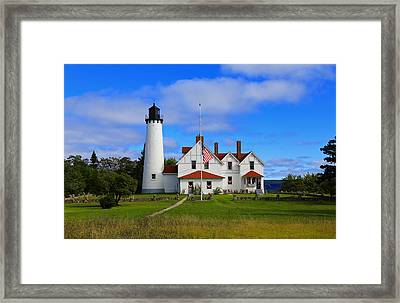 Path To Point Iroquois Framed Print