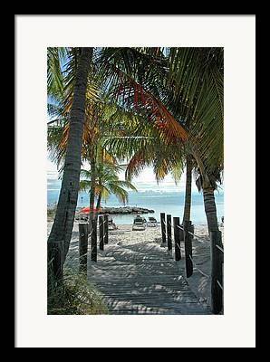 Key West Framed Prints