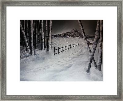Path To Solitude Framed Print
