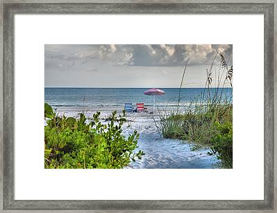 Path To The Beach II Framed Print