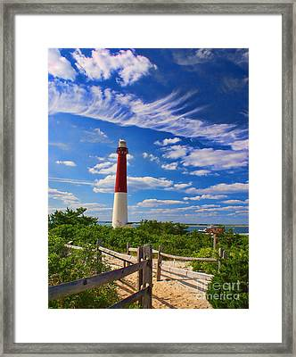 Path To The Light Framed Print