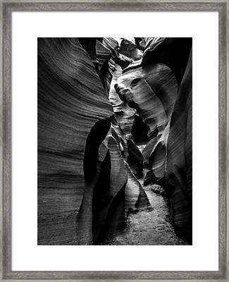 Path To The Underworld Framed Print by Lovejoy Creations