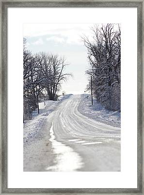Framed Print featuring the photograph Path To The Unknown by Dacia Doroff