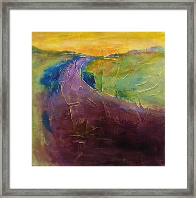 Path Vi Framed Print