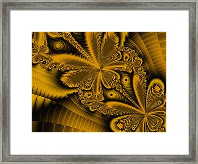Framed Print featuring the digital art Paths Of Possibility by Elizabeth McTaggart