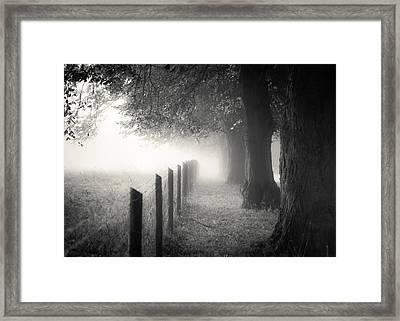 Pathway Framed Print by Chris Fletcher