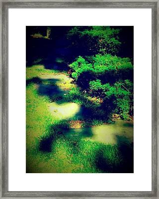 Pathway Of Majik Framed Print