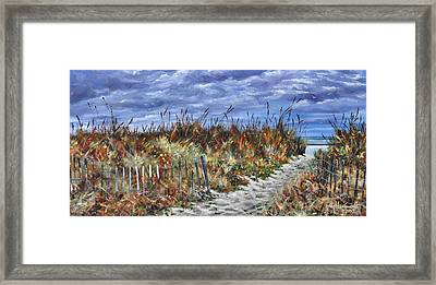 Pathway To North Myrtle Beach Framed Print