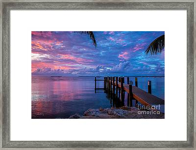 Pathway To The Infinity Framed Print by Rene Triay Photography