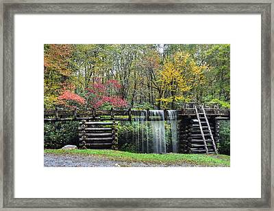 Pathway To The Mill Framed Print by Mary Anne Baker