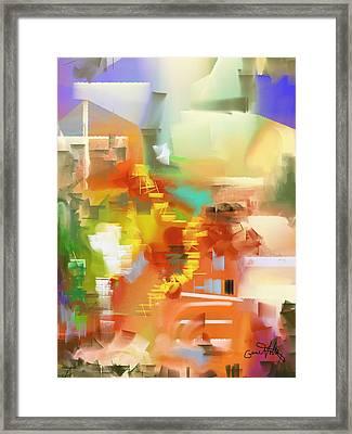 Pathways Framed Print