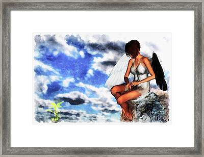 Patience Framed Print by Brian Hart