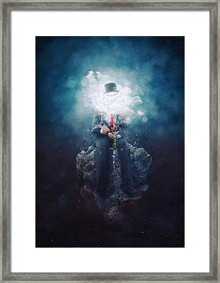 Patience Framed Print by Mario Sanchez Nevado