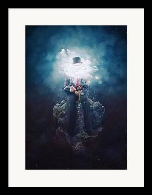 Starry Digital Art Framed Prints
