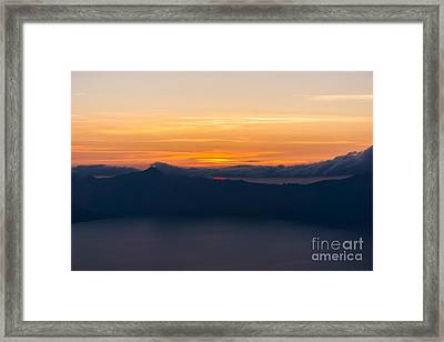 Patience Rewarded Framed Print