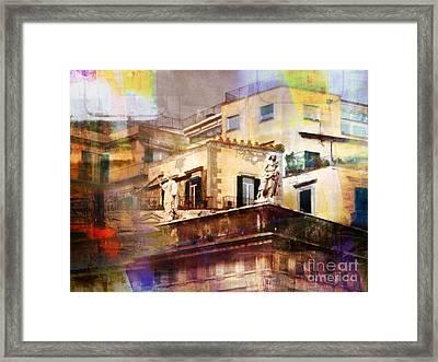 Patina Art Framed Print by Lutz Baar