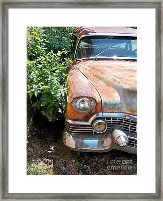 Patina Done Well Framed Print by Chuck  Hicks