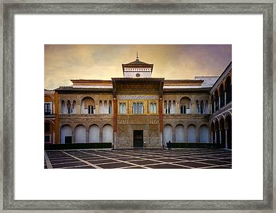 Patio De La Montaria II Framed Print by Joan Carroll