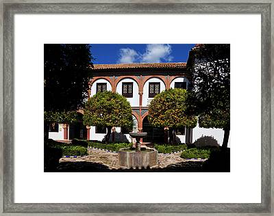 Patio Del Museo Cordobes De Bellas Framed Print
