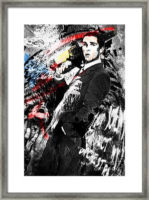 Patrick Bateman - American Psycho Framed Print