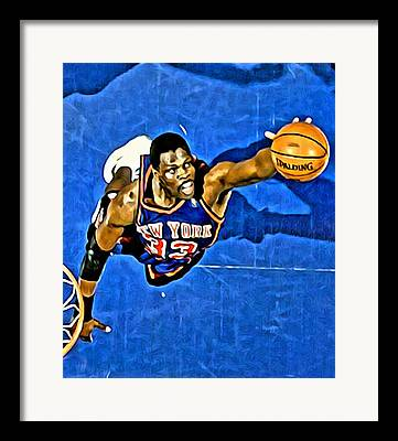 Patrick Ewing Photographs Framed Prints