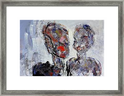 Patrick Garland And Alexandra Bastedo Framed Print by Stephen Finer