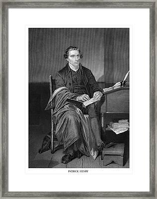 Patrick Henry Framed Print