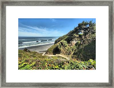 Patrick's Point Framed Print by Adam Jewell