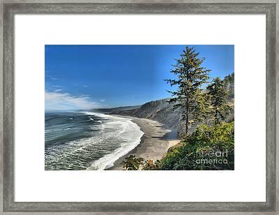 Patrick's Point Landscape Framed Print by Adam Jewell
