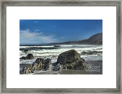 Patrick's Rocks Framed Print by Adam Jewell
