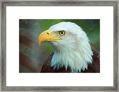 Patriot Framed Print by Heidi Smith
