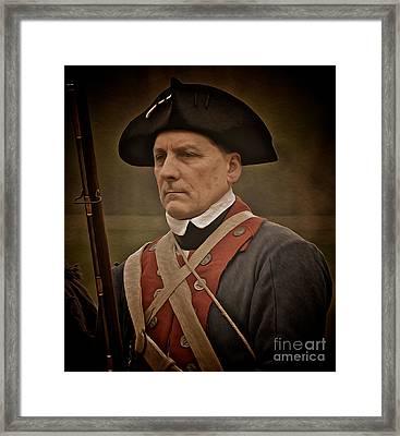Patriot Framed Print by Mark Miller