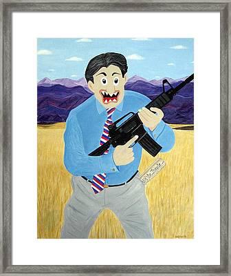 Patriot Framed Print by Sal Marino