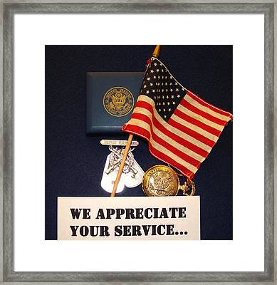 Patriot Framed Print