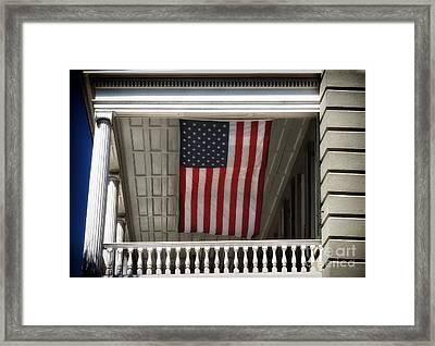 Patriotic Charleston Framed Print by John Rizzuto