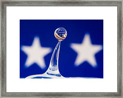 Patriotic Pop Framed Print