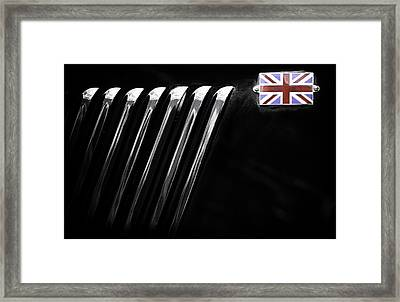 Framed Print featuring the photograph Patriotic Thriller by Russell Styles