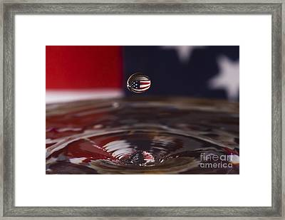 America Framed Print by Anthony Sacco