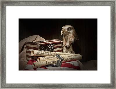 Patriotism Framed Print by Tom Mc Nemar