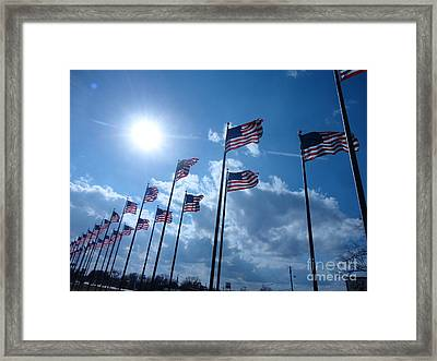 Patriots Alive Framed Print by Chuck Taylor