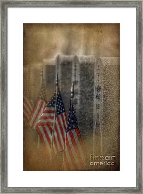 Patriots Pallet Framed Print by The Stone Age